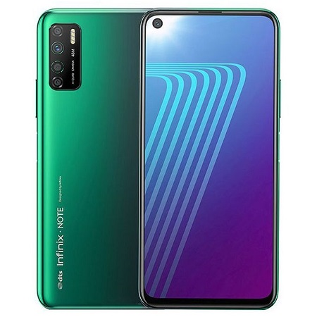 Infinix NOTE 7 Lite: 6.6inch, 4GB + 64GB, (Dual SIM), 5000mAh- Forest Green