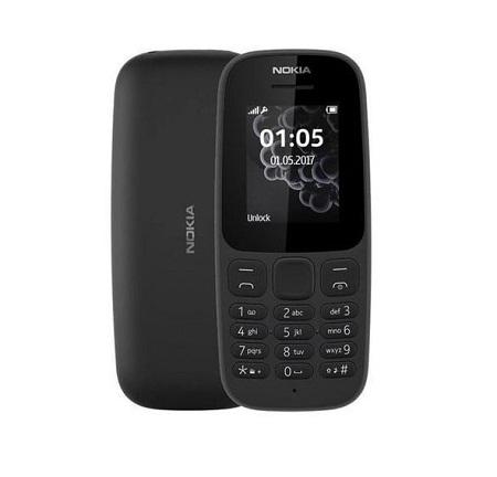 Nokia 105 - Dual SIM - Black