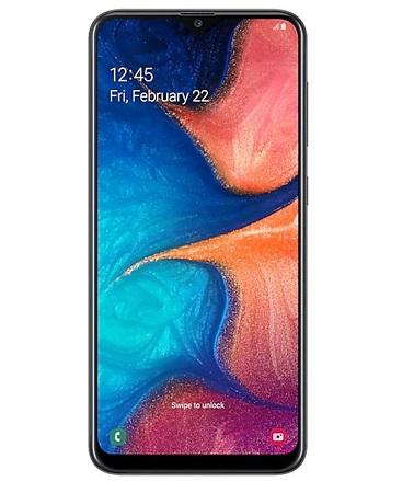 Samsung Galaxy A20s: 6.5 inch 3GB + 32GB (Dual SIM) - Black