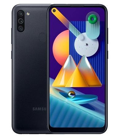 Samsung Galaxy M11: 6.4 inch , 32 GB + 3 GB RAM , Dual SIM
