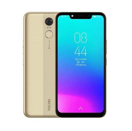 Tecno Pouvoir 3 (LB7), 6.2inch, 32GB + 2GB (Dual SIM), Gold
