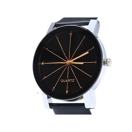 Male Analog Quartz Watch+free gift box