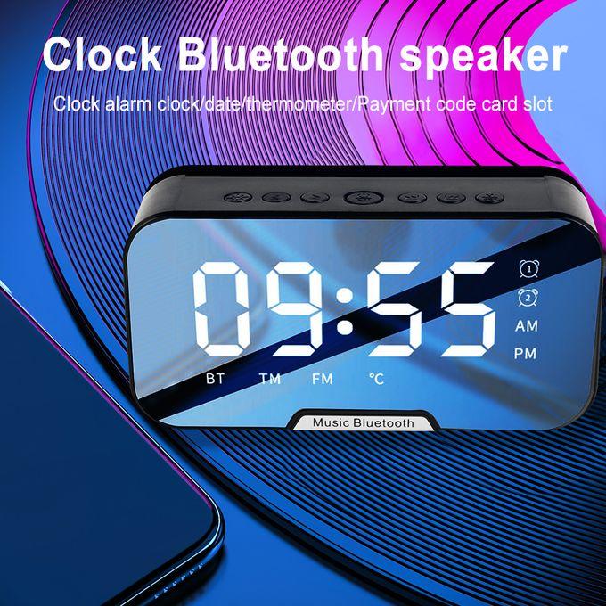 Caston Bluetooth Speaker with Clock and Alarm