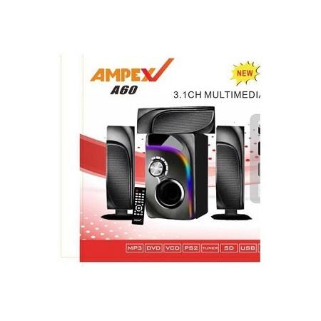 Ampex A60 MULTIMEDIA SPEAKER SOUND SYSTEM-3.1CH-12000W
