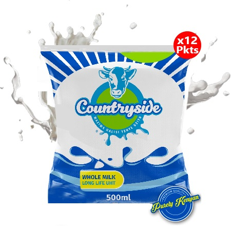 Countryside Dairy Long Life Milk 500ml- 12 Packets