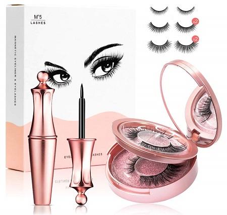 Magnetic Eyelashes and Eyeliner Kit