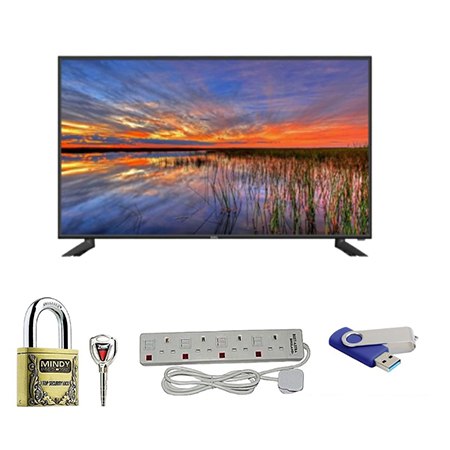 Sonar 24 Inch Digital TV + FREE Padlock, Power Extension , Flash Disk