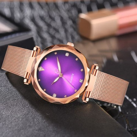 Luxurious Ladies Wrist Watch