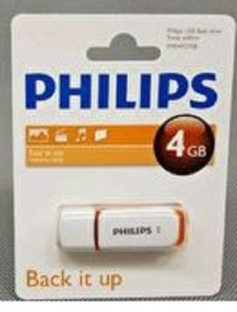 Phillips Flash Disk- 4GB
