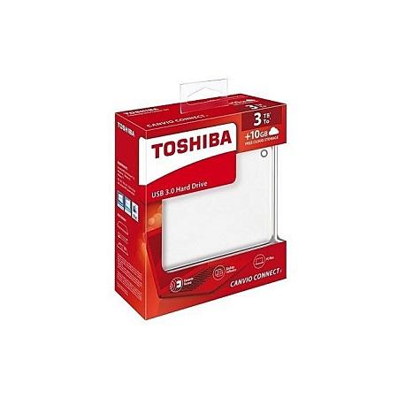 Toshiba Portable External Hard Drive 2.5 Inch USB 3.0 - 3TB