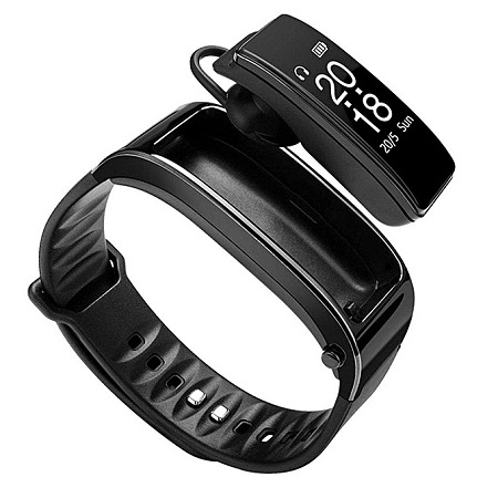 Y3 Bluetooth Smart Bracelet Sports Fitness Tracker for Android IOS - Black