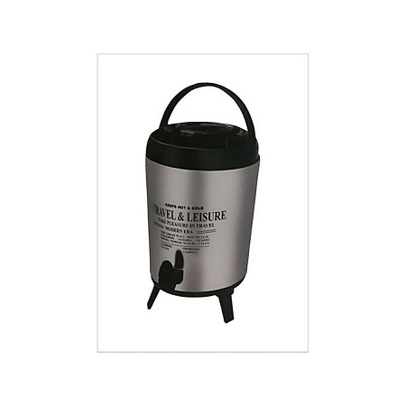 Stainless Steel Portable Tea Urn - 9.5L - Silver