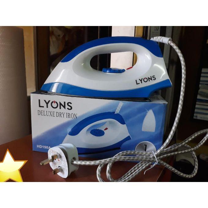 Lyons White & Blue Ironing Box Corded