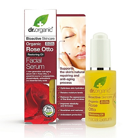 Dr. Organic Rose Otto Facial Serum 30ml