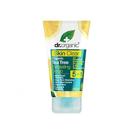 Dr. Organic Skin Clear Exfoliating Scrub -150ml