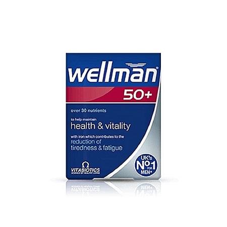 vitabiotics Wellman 50plus Tablet 30
