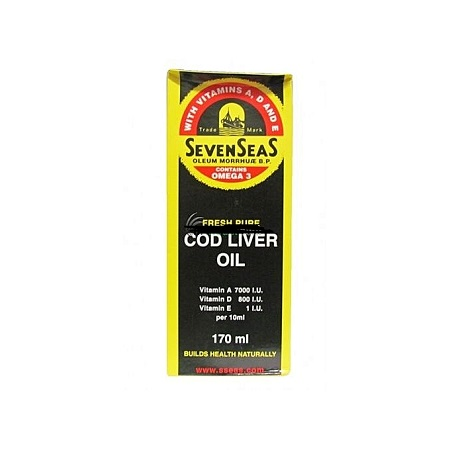 Seven seas Cod Liver Oil 170ml