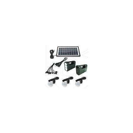 GDLITE 8017 Solar Lighting 3bulb