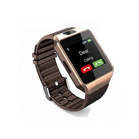 New Model Smart Watch Touch Screen Smart Watch Phone - Rose Gold
