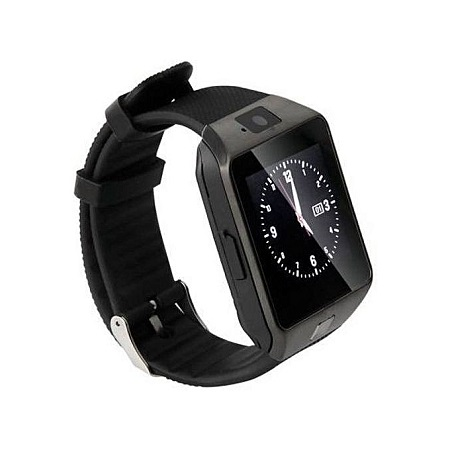Smart Fit DZ09 Smart Watch Phone for Android and Apple - Black/slv