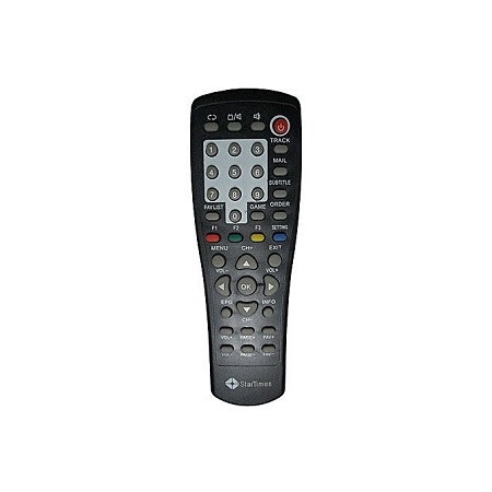 Startimes Decorder Remote - Black