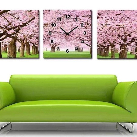 Wall clock big 120 cm by 0.4