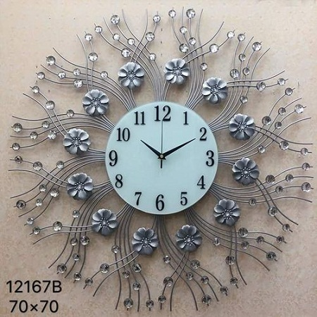 Wall clock big 70 cm diameter