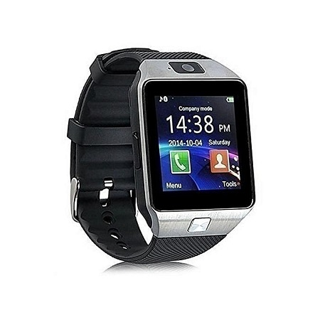 Touch Screen Smart Watch Phone DZ09 - Silver
