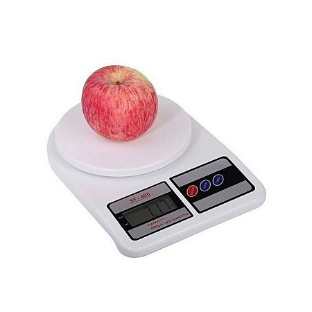 Electronic Kitchen 10kg Weighing Scale- White
