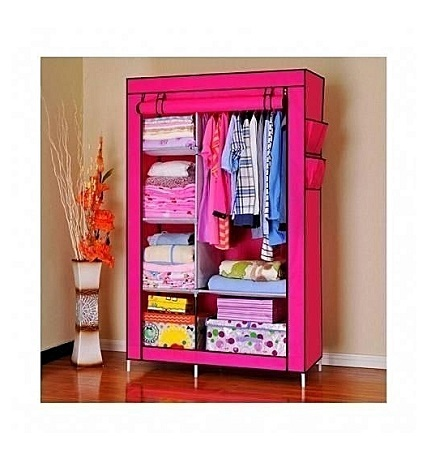 2 Column Portable Wardrobe