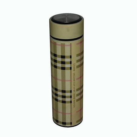 Portable Hot and cold vacuum flask brown 500ml