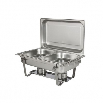 Chaffing Tray Buffet Catering silver