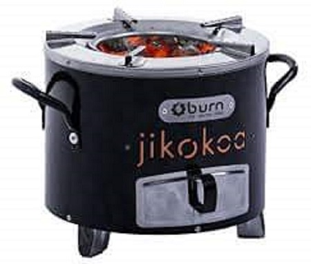 Improved Clean Jiko Jikokoa Stove Black