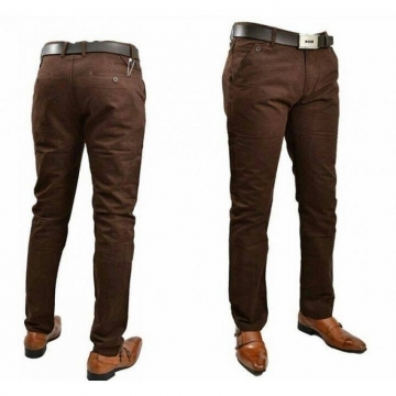 Khaki Trouser for Men for Official or Casual Wear- Palomino Brown