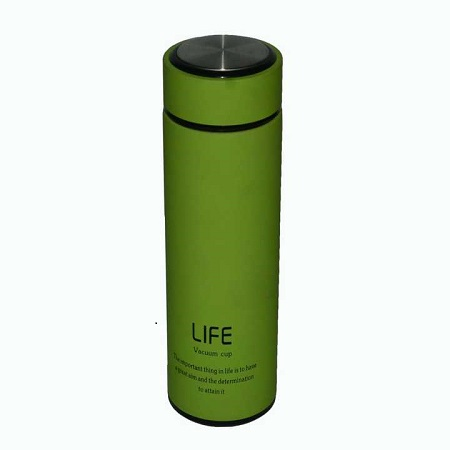Portable Hot and Cold Vacuum Flask Green- 500ml
