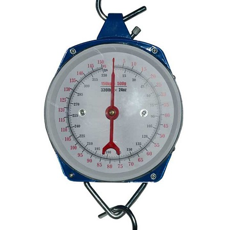 Quality weighing scale white