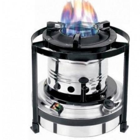 Unique Portable Kerosene Stove - Silver 2 liters