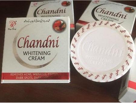Chandni Whitening Cream ; Acne, Dark Spots, Wrinkles Solution white