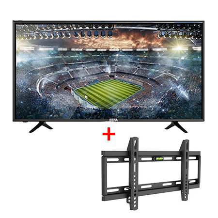 EEFA 32 inch Smart HD LED Digital TV - Black with free wall bracket