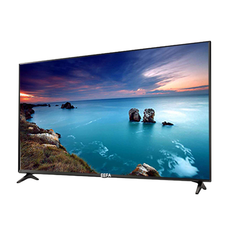 EEFA 43 inch Frameless Smart Android Digital HD LED TV - Black.