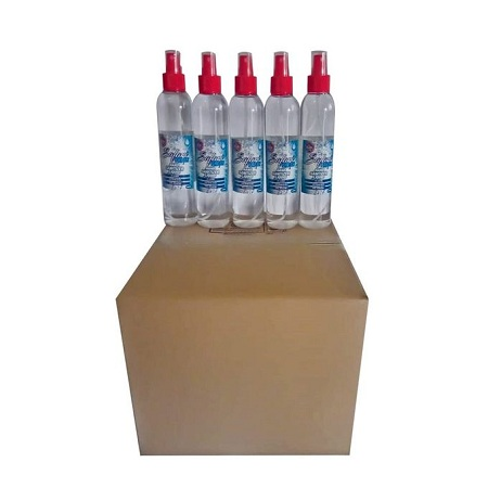 Safari Fresh (Box Of 25) 250ml 70% Alcohol Hand Sanitizer Liquid Spray