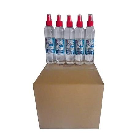 Safari Fresh (Box Of 25) 250ml 70% Alcohol Hand Sanitizer Liquid Spray