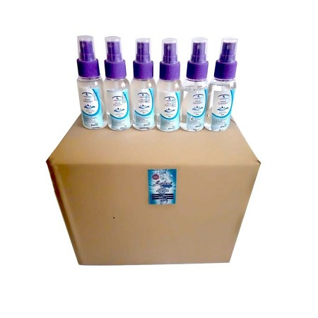Safari Fresh 80pcs 70% Alcohol Hand Sanitizer Liquid (65ml)