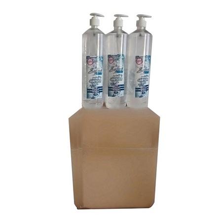 Safari Fresh 9Pcs 1Liter Hand Sanitizer Gel 70% Alcohol