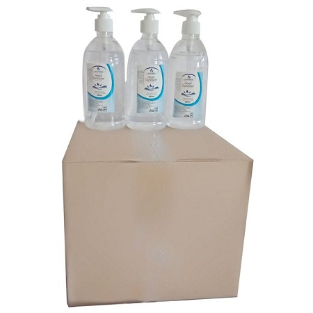 Safari Fresh 9pcs 500ml Hand Sanitizer 70% Alcohol