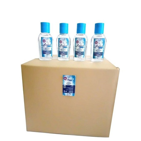 Safari Fresh 80pcs - 70% Alcohol Hand Sanitizer Gel (50ml)