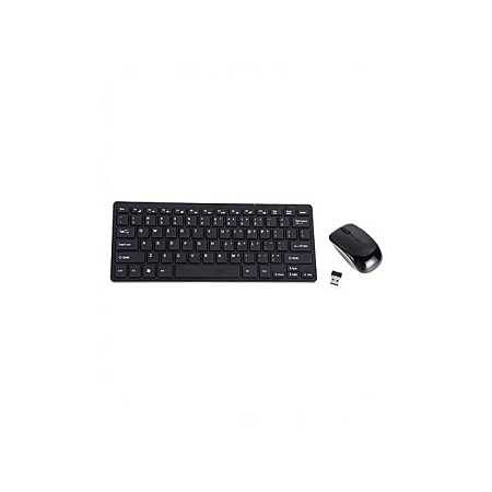 Generic Wireless Keyboard & Mouse Combo - Black