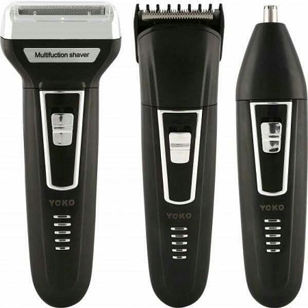 3 in 1 shaver Black one size