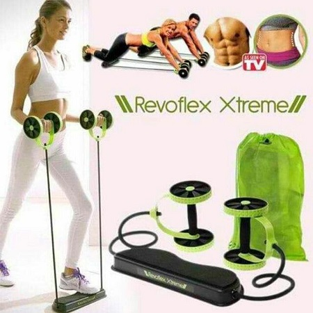 Revoflex extreme exercise kit green
