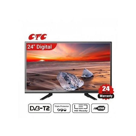 CTC LED Digital TV, 24 Inches, USB And HDMI Ports